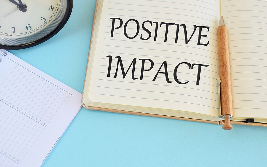 If you're not making a Positive Impact, what impact are you making?
